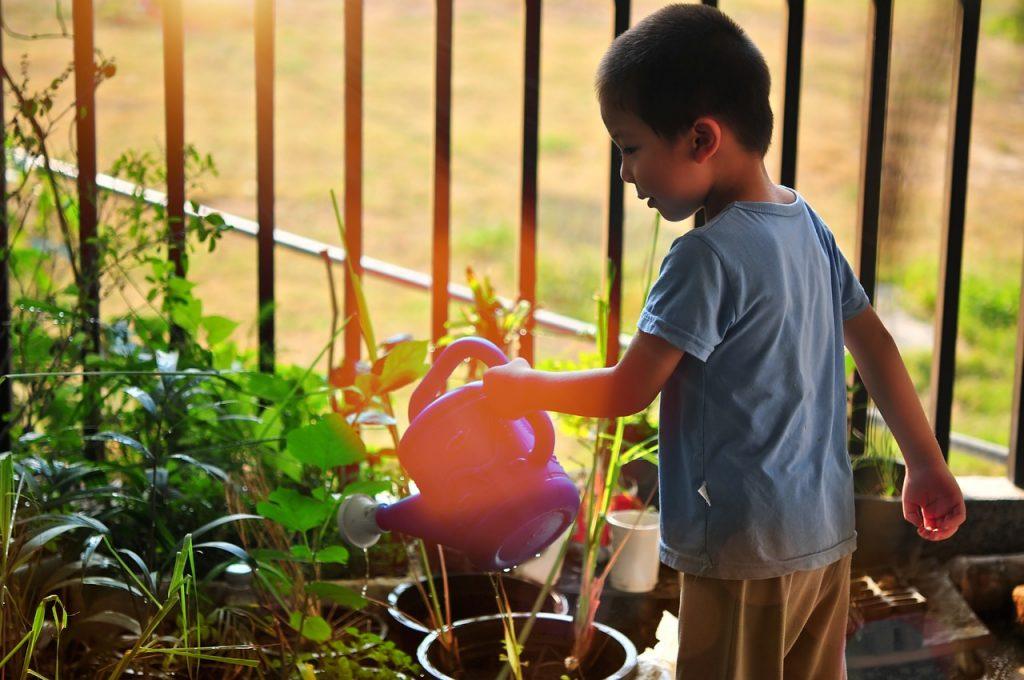 outdoor activities for kids - gardening