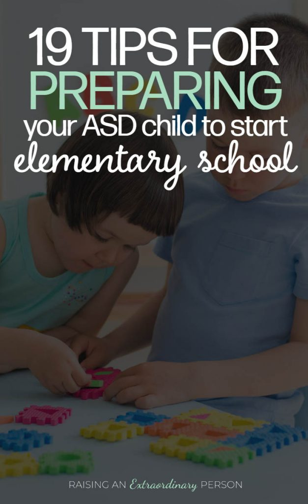 Tips For Preparing Autistic Children to Start Elementary School
