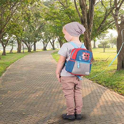 Autism Safety - Harnessed Backpack for running