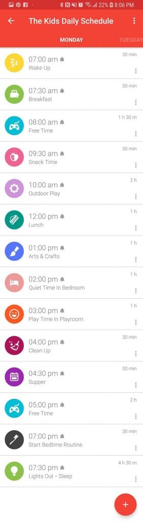 Time Tune Screenshot - How To Structure Your Home