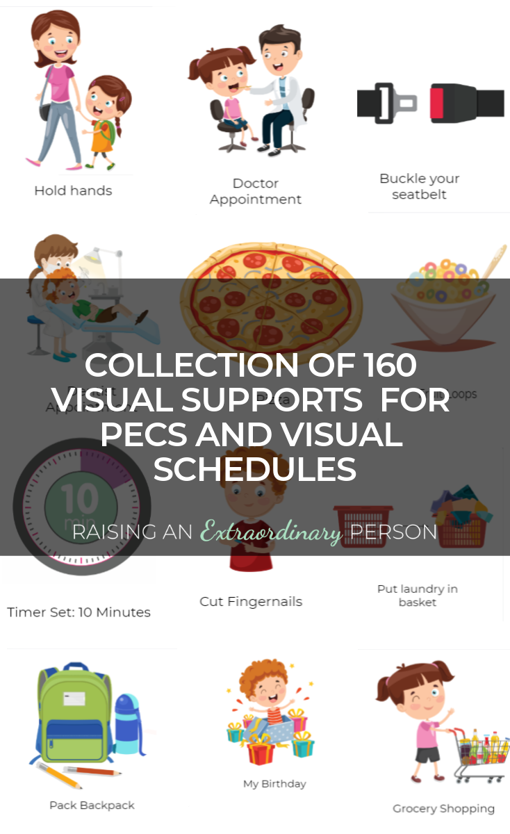 Pecs And Visual Schedule Graphics Collection 160 Images Raising