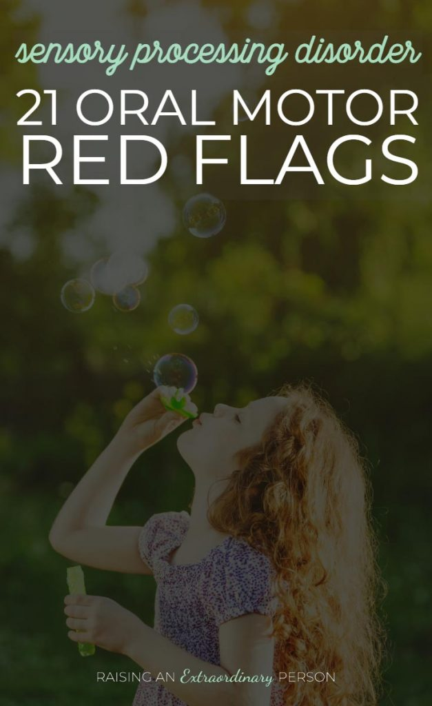 Sensory Processing Disorder: 21 Oral-Motor Redflags - Signs of SPD -#SPD #SensoryProcessing #SensoryDiet #OralMotor #Autism #ADHD #ToddlerDevelopment