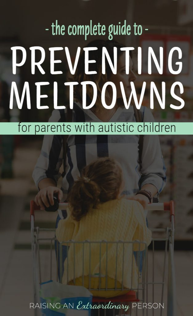 preventing autism meltdowns