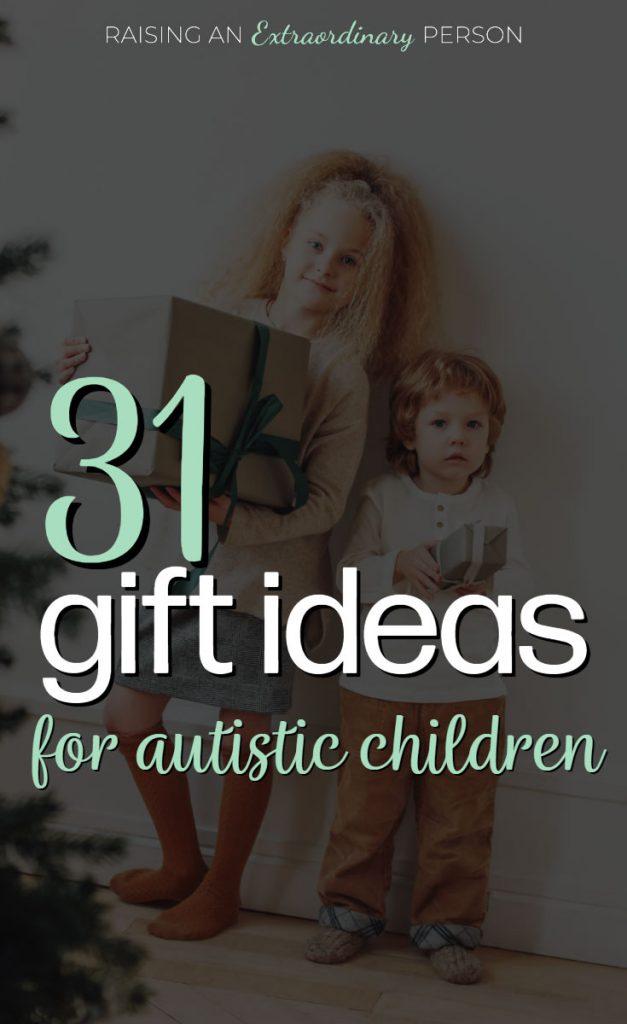 gifti deas for autistic children