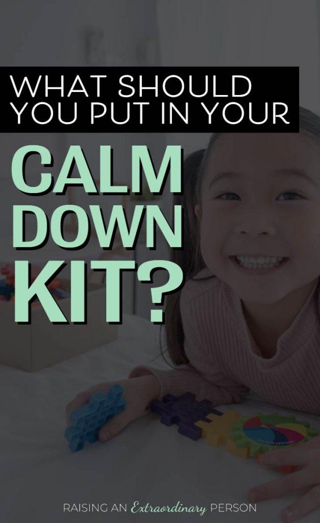 calm down kit ideas