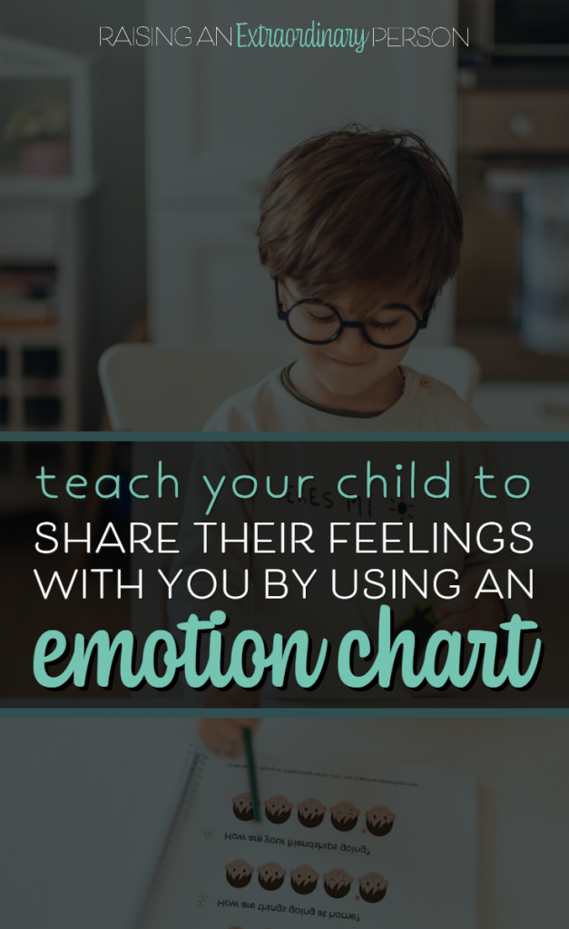 Identifying Emotions - Teach your child to share their feelings with you by using an emotion chart. This simple emotion chart lets you check in on your kids across different areas in their lives. #EmotionChart #FeelingsChart #EmotionalRegulation #SelfRegulation #CopingSkills #CalmDownStrategies