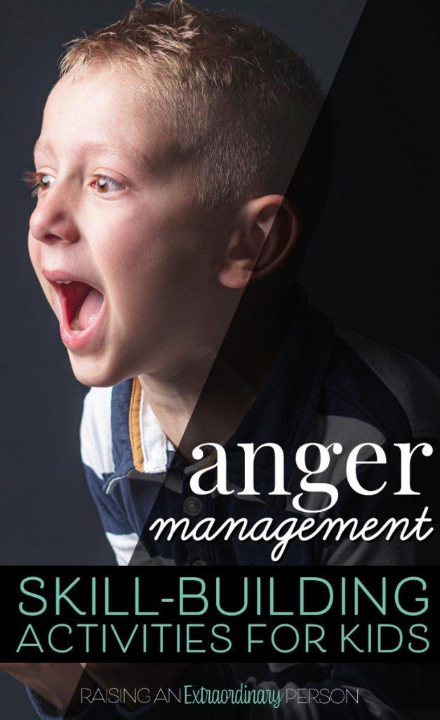 Kids Anger Management - Skill Building Activities, Books, Printable Worksheets and more. . . . #AngerManagement #CopingSkillsforKids #KidsBooks #SocialEmotionalLearning #EmotionalRegulation #SelfRegulation #Autism #ADHD