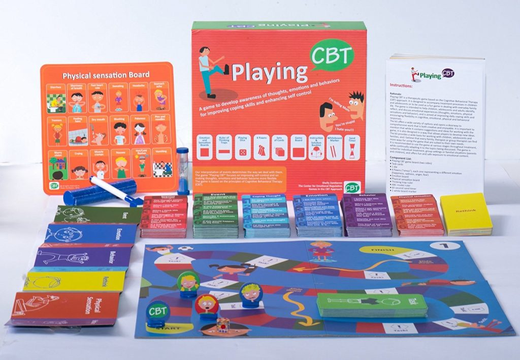 Playing CBT - Therapy Games for Emotional Intelligence
