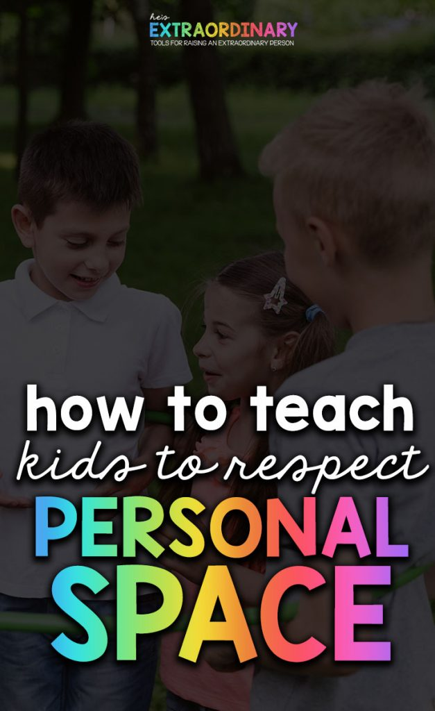 How to teach kids to respect personal space - Includes social story about personal space, Video of book about personal space, activities, information about recognizing community helpers and stranger danger.  #SocialSkills #SEL #SocialEmotionalLearning #PositiveParenting #Education