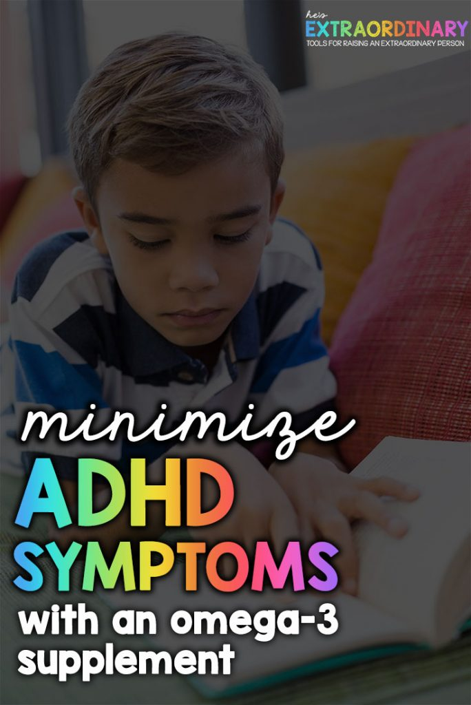 What's inside this article: An explanation of how ADHD medications work to increase the level of dopamine in the brain, and how omega-3 is required for our body's to create dopamine. Plus a look at which omega-3 supplements are the best for ADHD. #ADHD #ADHDKids