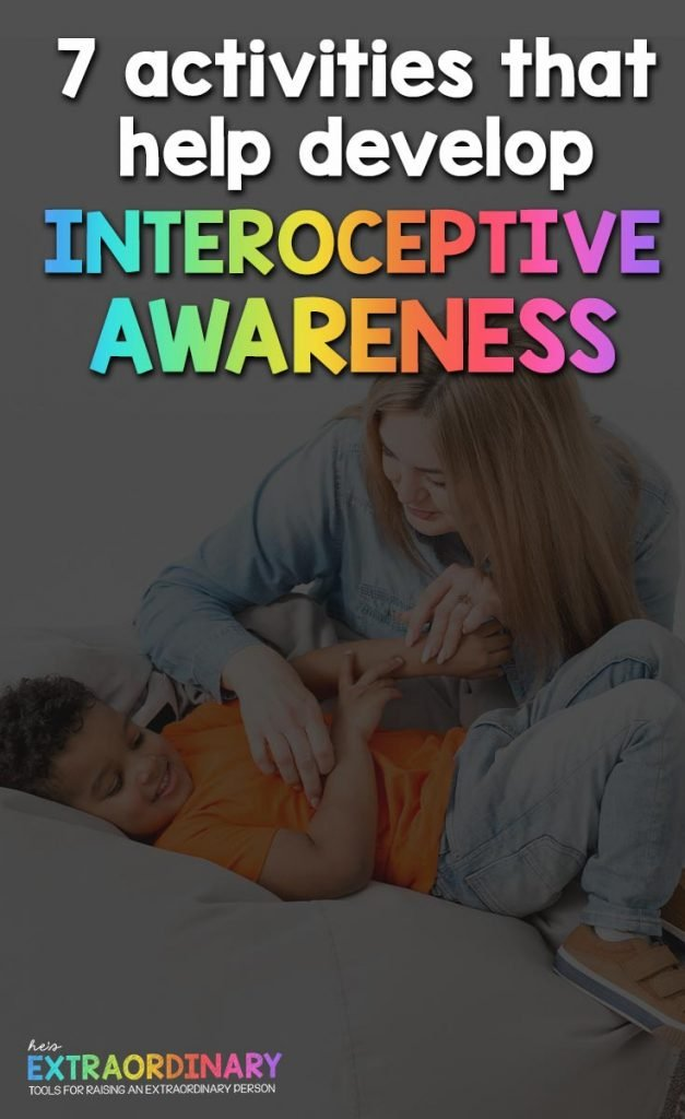 How The Interoceptive System Works & 7 Activities for Kids That Build Interoceptive Awareness // #Autism #ADHDKids #SelfAwareness #Mindfulness #SPD #SensoryActivities #SensoryDiet #BodyAwareness #ToddlerDevelopment #EmotionalRegulation