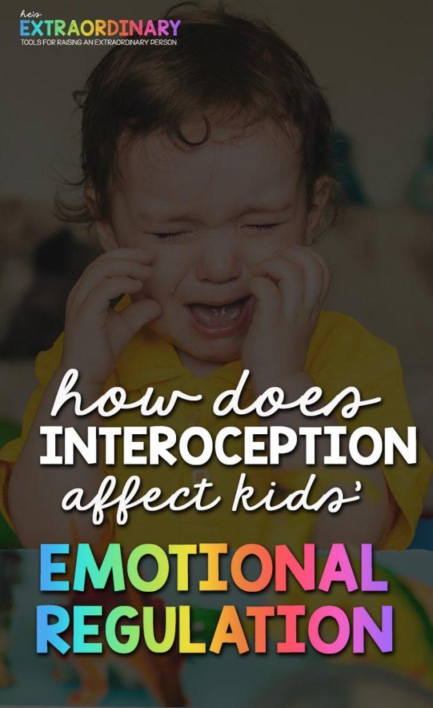 How does Interoceptive Awareness affect childrens emotional regulation? #SensoryProcessing #SelfRegulation #EmotionalRegulation #SPD #ASD #Autism #ADHDKids