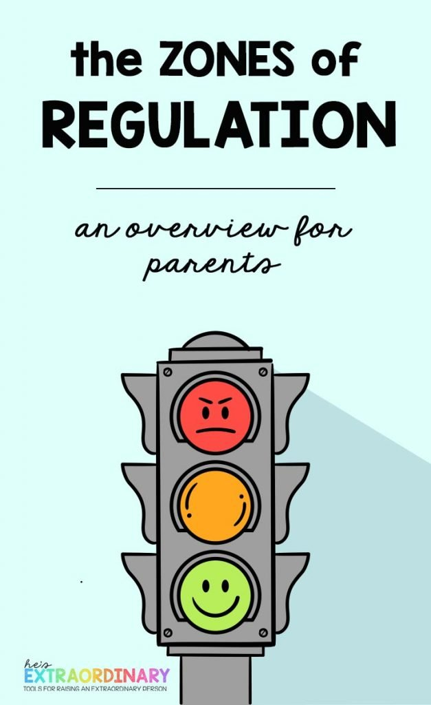 An overview of the Zones of Regulation curriculum for parents interested in learning about the program // #ZonesofRegulation #SelfRegulation #EmotionalRegulation #SEL #SocialEmotionalLearning