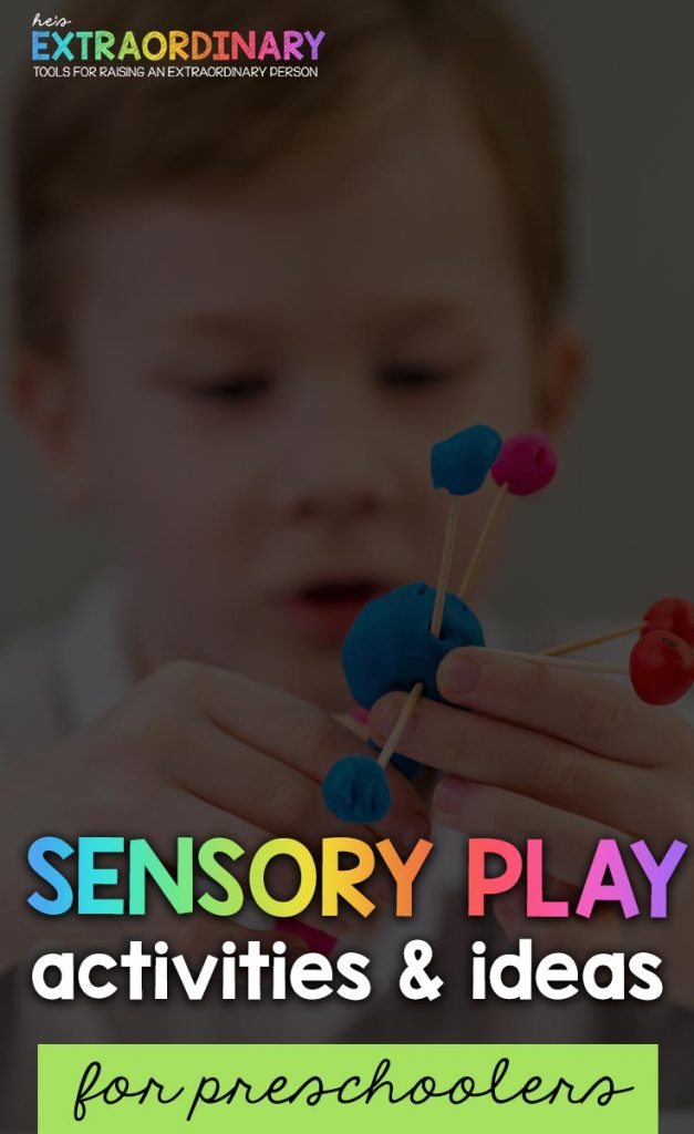 sensory play activities and ideas for toddlers and preschoolers #sensoryactivities #sensoryideas #sensoryplay