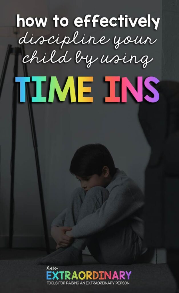 A comparative look at time ins versus time outs, information about why children misbehave and how to teach skills that help them behave better. Lastly, tips and tricks for successfully using time-ins instead of time outs. #PositiveParenting #SocialEmotionalLearning #ParentingTips