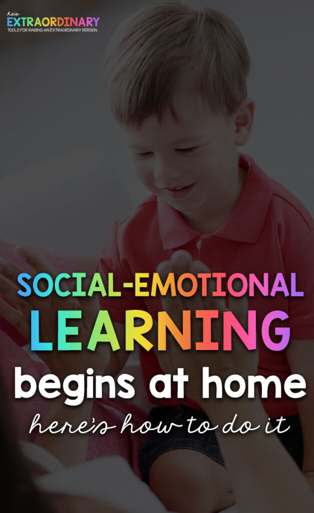 An overview of what social-emotional learning is, which skills it encompasses, why it's so important for child development, and tips for parents to provide SEL in the home. #SEL #SocialEmotionalLearning