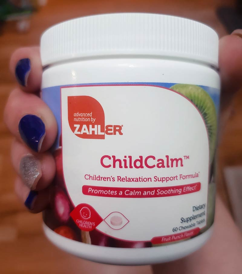 ChildCalm Supplement from Advanced Nutrition by Zahler