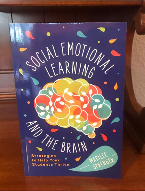 paperback copy of social-emotional learning and the brain