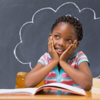 would you rather questions for kids - child thinking