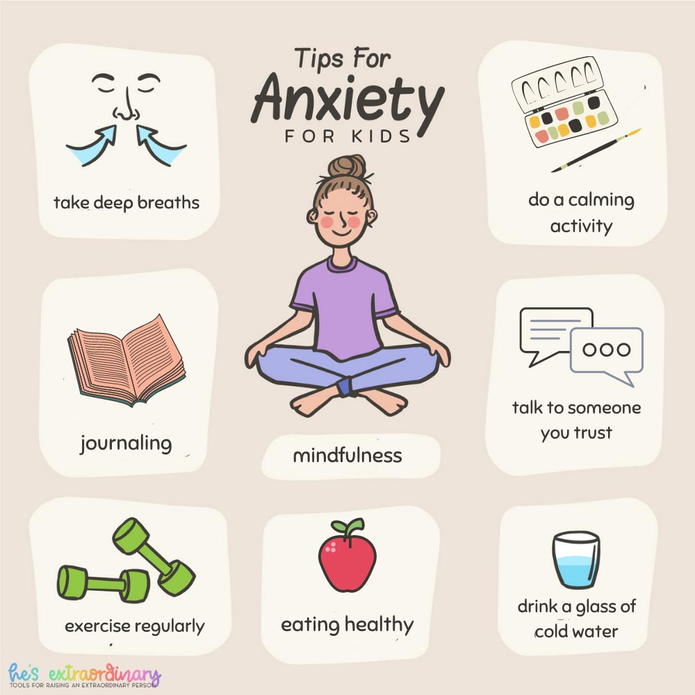 tips for reducing anxiety - the step ladder approach